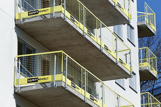 collective edge protection house construcion