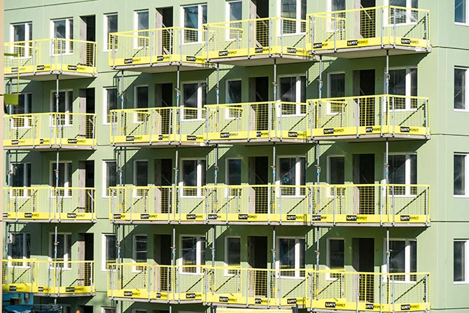 fall protection balconies