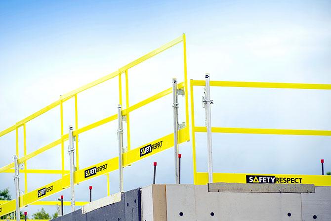 Frame barrier edge protection