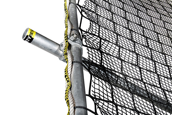 Safety net fall protection