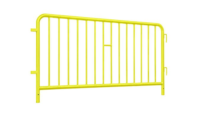 Barrier powder coated