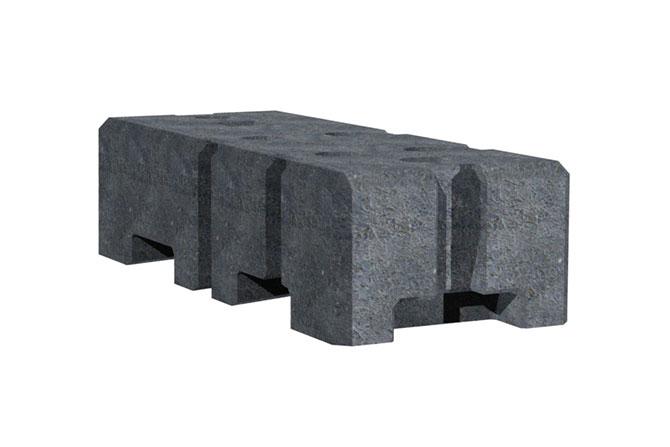 Block foot