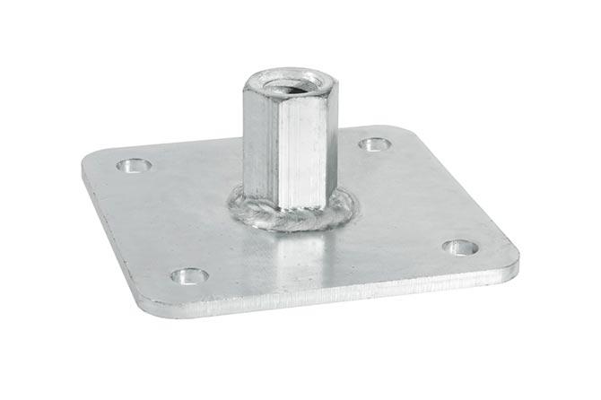 Centre plate 140x140