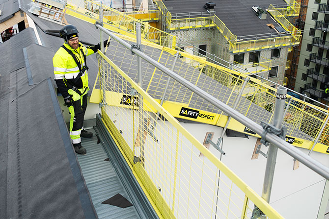 Training courses working platforms