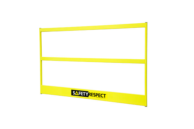 Frame barrier 1,95 alu