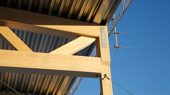 Wooden beams and columns | SAFETYRESPECT