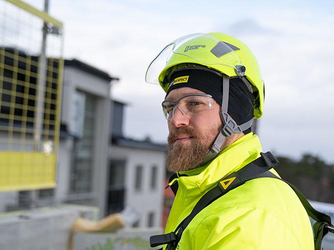 Safety helmet SR flash