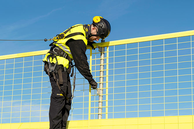 Personal fall protection SafetyRespect