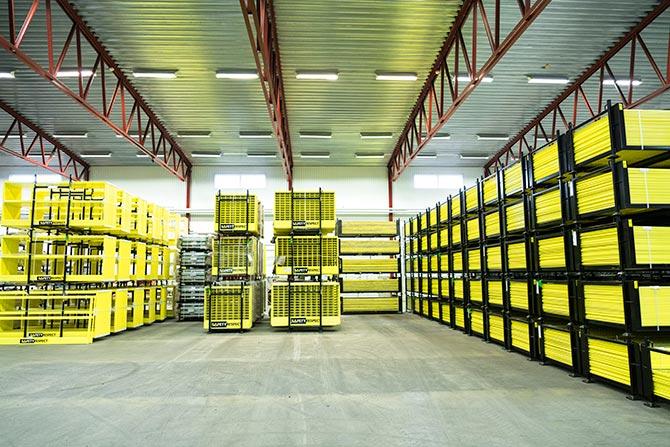 Logistics edge protection